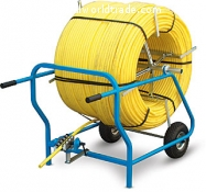 Svolgitubo cart M 600 specifically for pipe coils