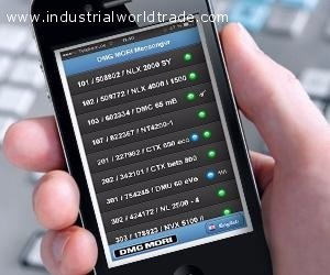 Ads - SOFTWARE - DMG MORI Messenger Real time status