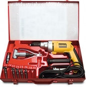 Extractor Kit with electric drill collars