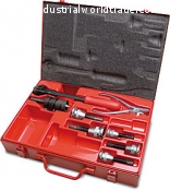 Extractor Kit manuals for colletti In metal carrying case.