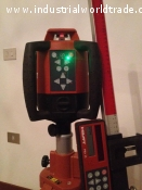 HILTI PR25 rotating laser with all Acessories