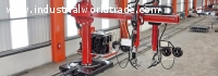 straight beams welding manipulators