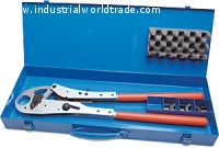Battery press unit with manual manual inserts