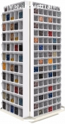 REVOLVING SHELF ORGANIZER 310 FOLDING DRAWER h