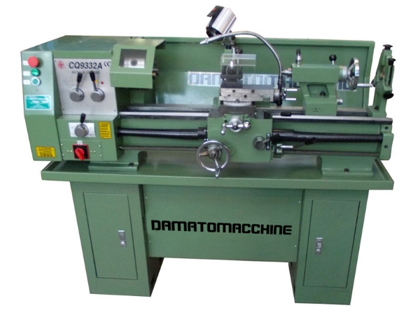 Ads machine tools tornio semi professionale multitech for Tornio da banco per metalli usato